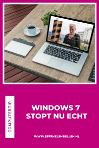 Computertips - Windows 7 stopt nu echt