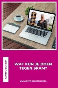 Computertip - Wat kun je doen tegen spam