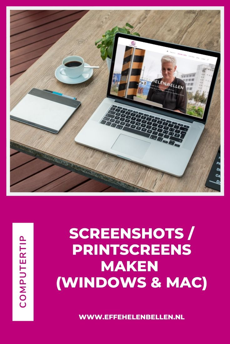 Computertips - Screenshots / printscreens maken - windows & Mac