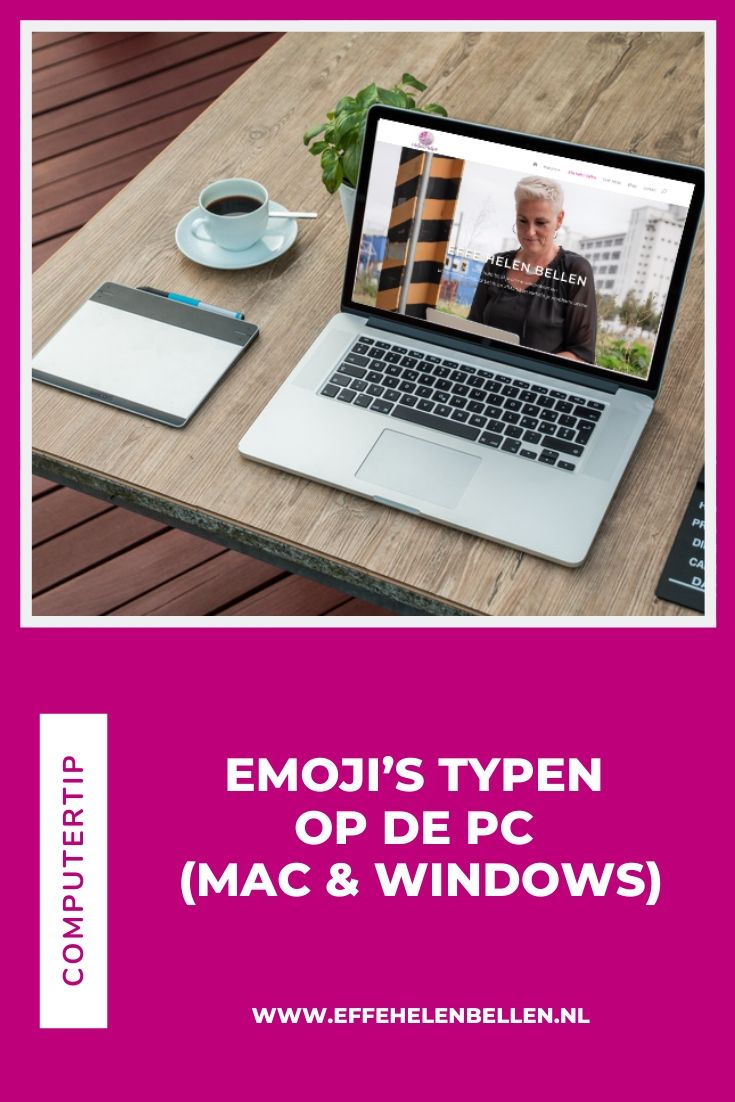 Hoe typ je emoji's op de pc (Mac en Windows)