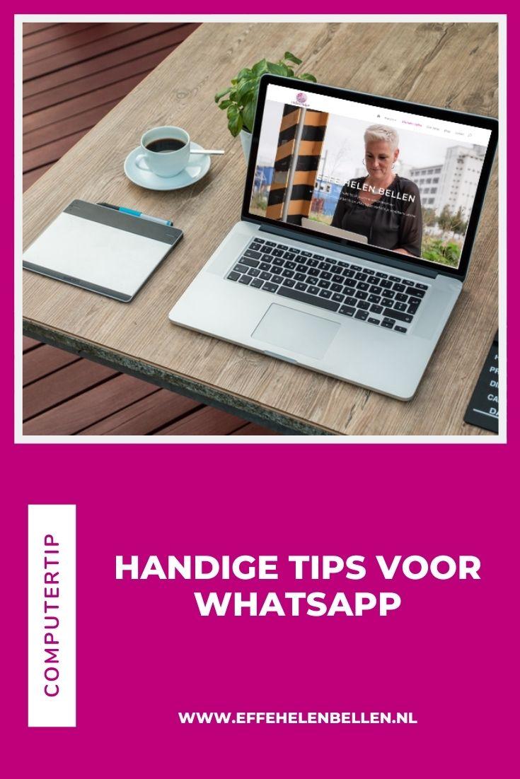 Computertips - handige tips voor Whatsapp